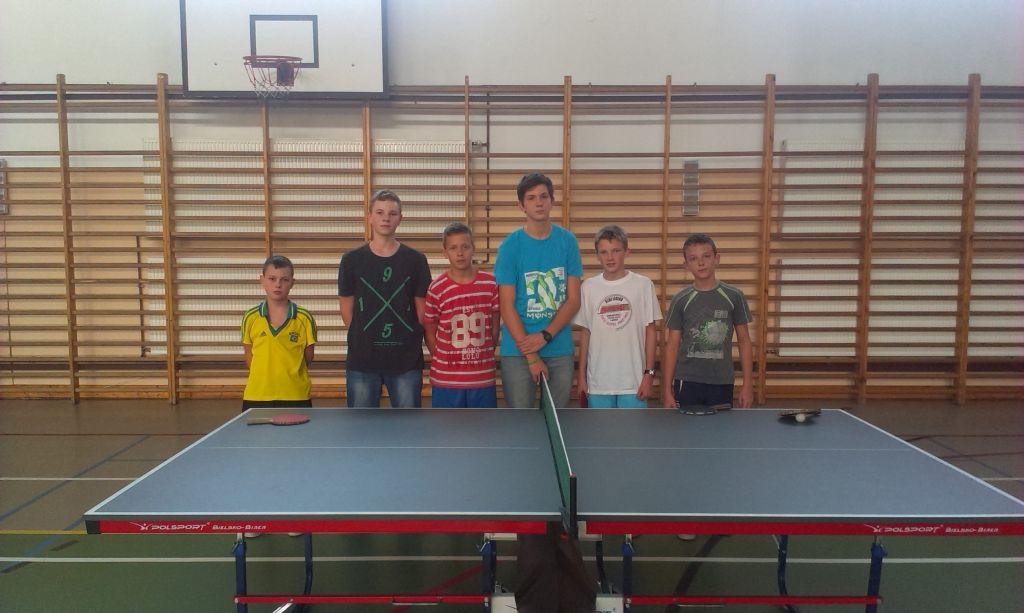 Eliminacje szkolne w tenisie stołowym