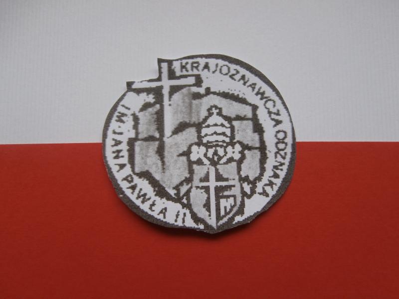 W roku Jana Pawła II zdobywamy Krajoznawczą Odznakę im.Jana Pawła II