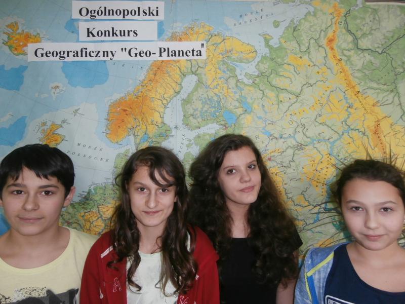 Kolejna edycja Ogólnopolskiego Konkursu Geograficznego Geo-Planeta.