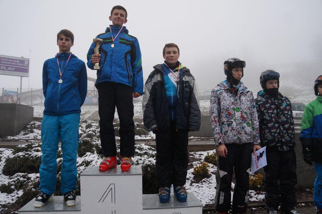 Zawody w narciarstwie zjazdowym o Puchar Burmistrza