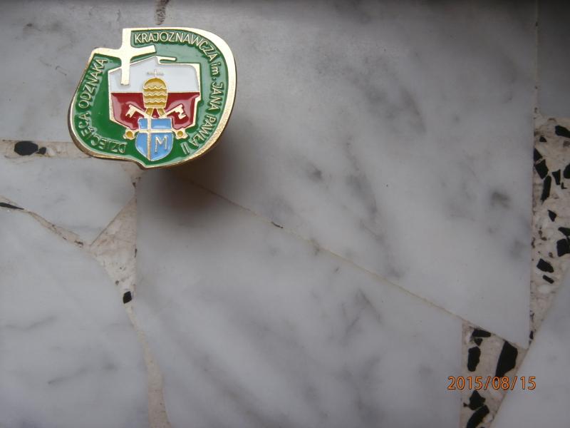 Uczniowie Zespołu Szkół zdobyli Dziecięce i Brązowe odznaki im.świętego Jana Pawła II.
