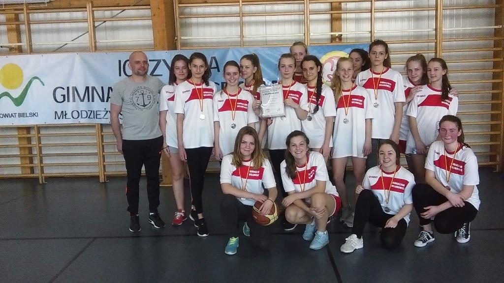Srebrny medal Gimnazjady dla dziewcząt!
