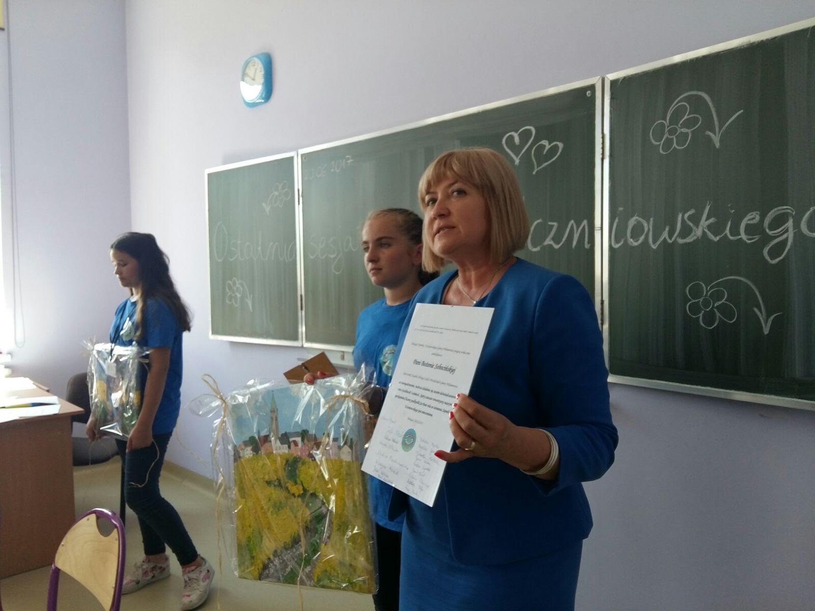 Podsumowująca sesja Sejmiku Uczniowskiego