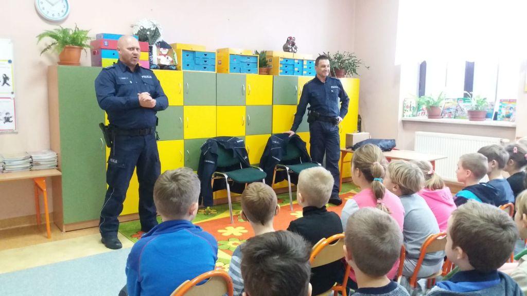 Spotkanie z policjantami.