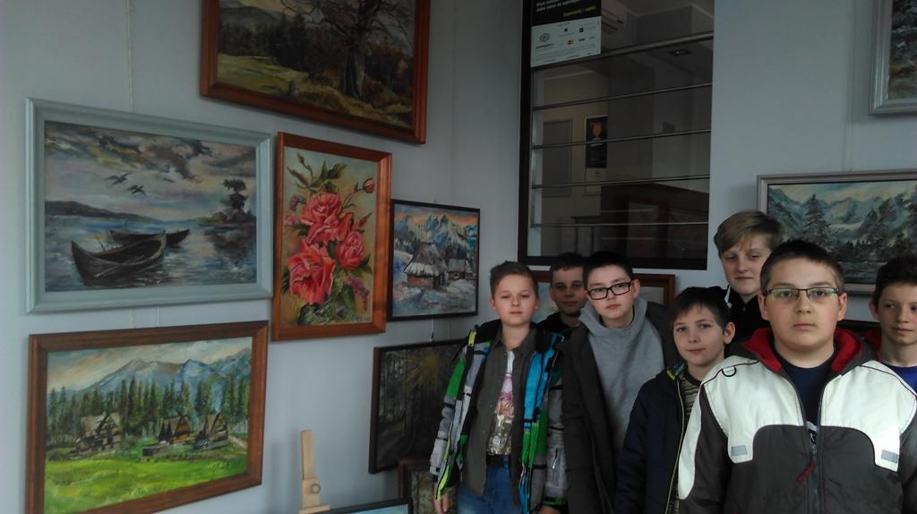 Wystawa  Malarstwa Eustachego Matejki w Banku Spółdzielczym w Wilamowicach