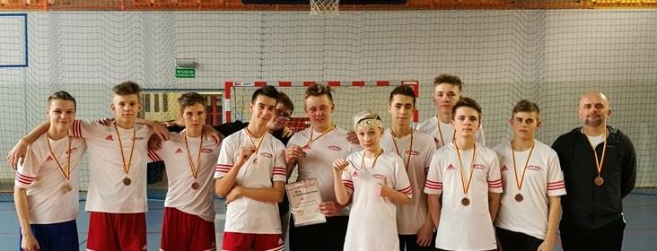 Brązowy medal Igrzysk Młodzieży dla chłopaków