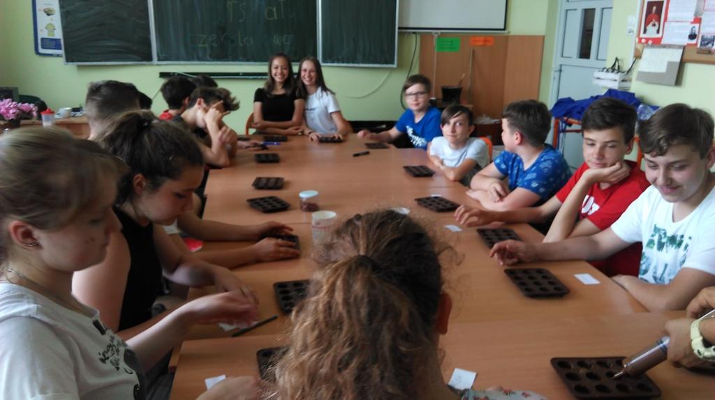 Warsztaty czekoladowe  w naszej szkole
