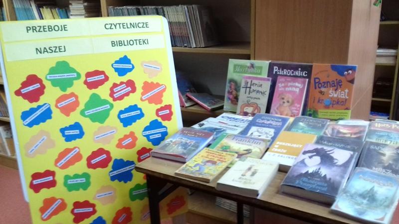 Przeboje czytelnicze naszej biblioteki