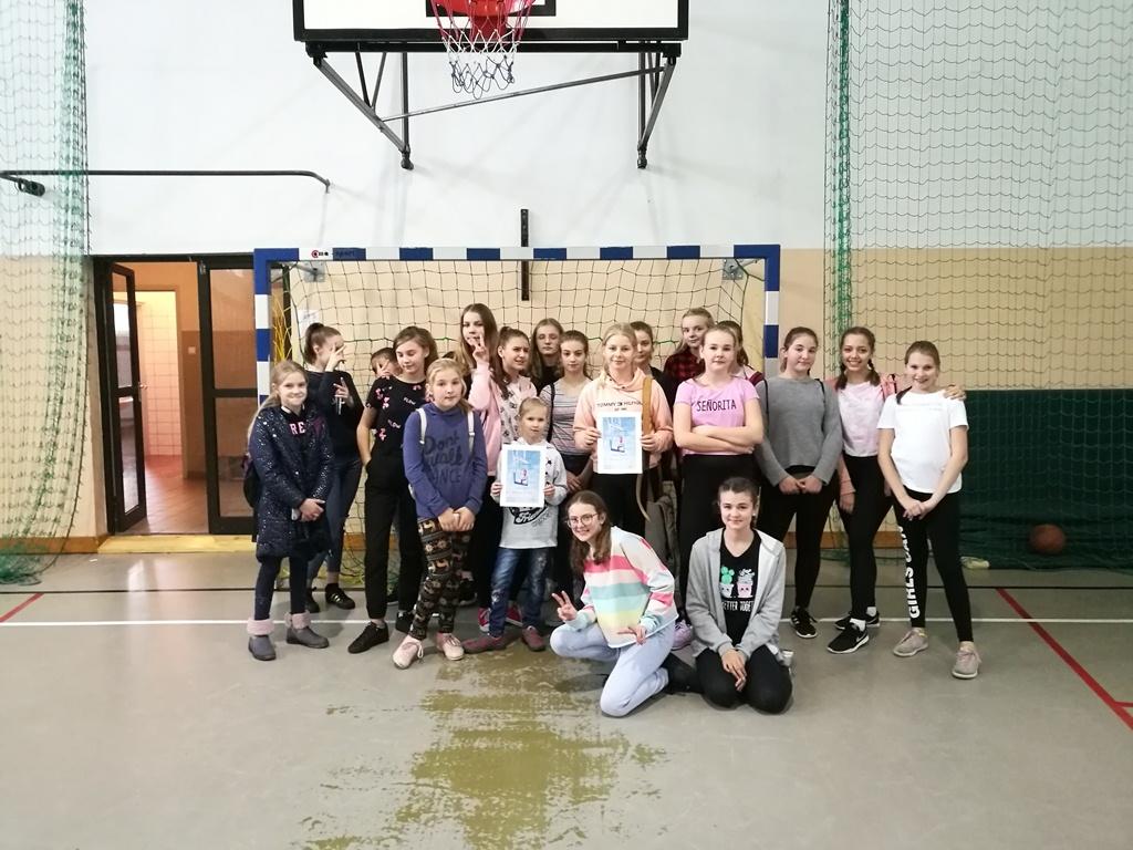 Mistrzostwa gminy w koszykówce dziewcząt