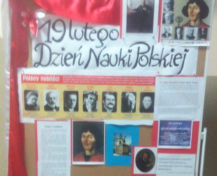 19 lutego-Dzień Nauki Polskiej