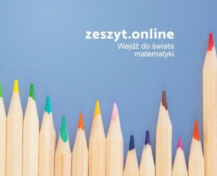 """zeszyt.online czyli """"matematyka na miarę"""""""